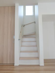 W様邸 リビング階段