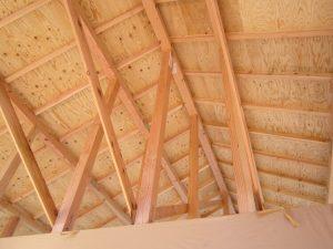 M様 施工中の天井