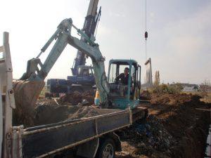 M様邸 掘削工事