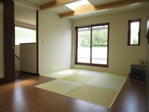 2階LDKにある畳スペース