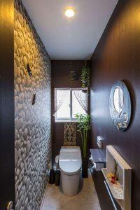 バリリゾート風トイレ