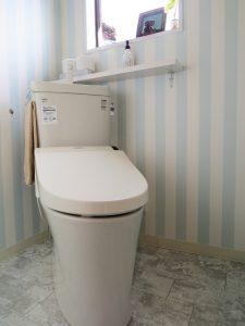 美容室トイレ